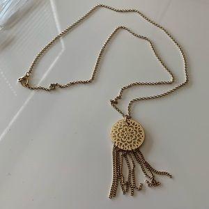 Jewelry - Dream Catcher Gold Long Necklace Fashion Jewelry